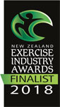 Exercise Industry Awards Finalist 2018 logo